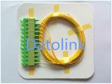 Zopf SC/PC mm lösen Aqua-Farbe des Gefäß-50/125 Om3 2m LSZH