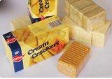 Máquina de empacotamento da película do Overwrap do petisco para biscoitos/deleites do caramelo/goma de mastigação