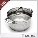 Casserole chaude de Cookware d'acier inoxydable de vente