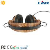 L'impression de transfert de l'eau personnalisent l'écouteur en bois stéréo d'OEM de logo