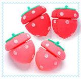 Qualitäts-Erdbeere-Form-Haar-Rollen-Schwamm