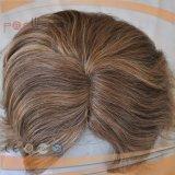 Самый лучший продавая парик курчавых волос полного парика шнурка европейский
