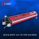 Más máquina de Aire-Enfriamiento de la prensa de la junta del empalme de la prensa caliente de la eficacia