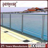 Pasamanos de cristal del acero inoxidable para las cubiertas (DMS-B21166)