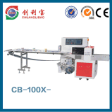 CB-100X fluyen máquina del paquete para el cepillo de dientes