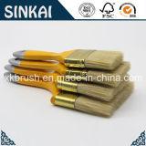 Brosses de synthétique de bonne qualité avec la poignée en bois