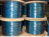 6X37*FC/Iws/Iwrc het plastic Materiaal bedekte Gegalvaniseerde Nylon/PP/PE/PVC Met een laag bedekte Kabel met een laag