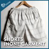 Inone 082 Mens nada Shorts ocasionais da placa das calças curtas