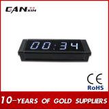 """[Ganxin] 1개의 """" 소형 스크린 전시 정밀도 세계 시간 LED 시계"""