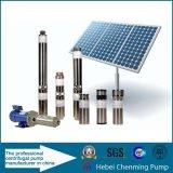 Bomba solar para la irrigación, bomba de agua solar de la alta elevación, bomba solar de la C.C.
