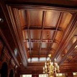 Hoja de los muebles del PVC de la membrana del color que lamina de madera