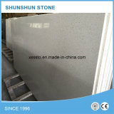 Belle partie supérieure du comptoir blanche de cuisine de pierre de quartz à vendre