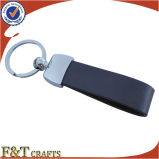 Bevordering van de van de bedrijfs douane het Kunstleer Keychain van de Reclame (FTKC1578A)