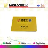 Tarjeta clásica elegante sin contacto de la tarjeta M1 S50 de la frecuencia intermedia 1k RFID del bajo costo/tarjeta elegante de Ntag 213/215/216/Icode Sli Card//DESFire EV1 2k/4k/8k Card/NFC (muestras libres)