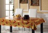 Todo o projeto Glod gravou o Tablecloth impresso PVC