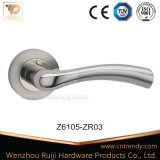 Traitement de levier en alliage de zinc de porte de modèle populaire sur Rose (Z6105-ZR03)
