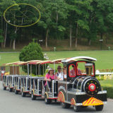 Parque de diversões Rides Electric Track Train para Sale