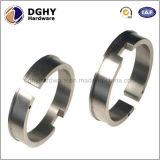 Peças feitas à máquina CNC de alumínio de bronze do metal da precisão do aço inoxidável