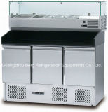 De Koelkast van de Vertoning van de Salade van de Dekking van het glas S903