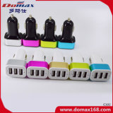 이동할 수 있는 셀룰라 전화 부속품 3 USB 접합기 토글 스위치 차 충전기