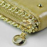 Женщин Бумажника кожаный портмона способа кожи повелительницы