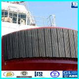 Tipo defensa del barco W del tirón del caucho