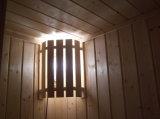 CD 플레이어 라디오 (A-806)를 가진 나무로 되는 전통적인 Sauna 룸/오두막