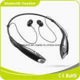 O preço de fábrica estereofónico de pouco peso de Smartphone da forma ocasional coneta auriculares de Smartphone Bluetooth do excitador de dois telemóveis