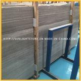 Azulejos de suelo de piedra de mármol de madera grises baratos del cuarto de baño y de la cocina