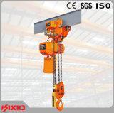Élévateur à chaînes électrique de levage de faisceau simple de la hauteur 3m~130m