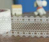 Washi 일본 테이프를 조각내는 관례 인쇄 책