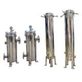 Carcaça de filtro líquida do aço inoxidável com Muti 4 - saco 20