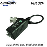 Screwless Terminal Block (VB102P)를 가진 1CH Passive CCTV Video Balun