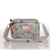 Wasserdichtes Segeltuch-Blumenschulter-Beutel-beiläufige Handtasche (99032-3)