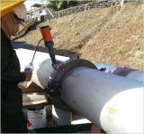 Corte frio da tubulação e trabalho de campo de chanfradura da máquina