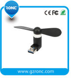 Mini ventilador vendedor caliente del USB para Smartphone