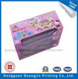 Подгонянное бумажное corrugated - коробка игрушки доски упаковывая с прозрачным окном