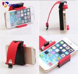 Support coloré de téléphone de volant pour le stand en plastique de qualité de véhicules pour la bride escamotable de berceau de support du téléphone cellulaire GPS