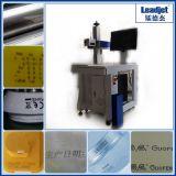 Hochgeschwindigkeits-CO2 Laser-Verfalldatum-Drucker für Plastikflaschen