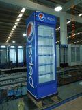 Estilo da Único-Temperatura e refrigerador da bebida da porta de Glsss da certificação do Ce