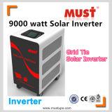 Cravate solaire 9000watt de grille d'inverseur de puissance fendue de Solaire d'inverseur de climatiseur