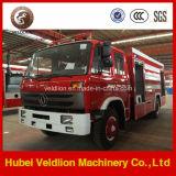 4X2 veicolo speciale del fuoco da 1500 galloni, camion di lotta antincendio