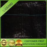 UV 저항 농업 PP 직물 매트 검정 플라스틱 지표 식피