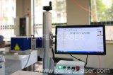 Machine professionnelle d'inscription de laser de fibre d'exportateur pour le métal