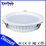 Luz de techo de aluminio del LED T-38 SMD LED ultra delgado Downlight