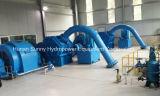 Hydraulique (l'eau) - basse tête et grand écoulement d'eau /Hydropower/Hydroturbine de turbo-générateur