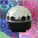 indicatore luminoso magico di cristallo della sfera di 6*1W LED