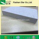 Tarjeta del panel Tarjeta-Incombustible de la partición del cemento de la fibra