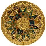 Pièces d'or commémoratives de promotion faite sur commande
