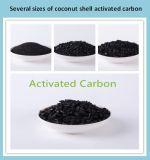 Carbón activado shell del coco de la materia prima
